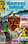 Cover for The Marvel Saga the Official History of the Marvel Universe (Marvel, 1985 series) #3 [Newsstand Edition]