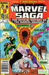 Cover for The Marvel Saga the Official History of the Marvel Universe (Marvel, 1985 series) #4 [Newsstand Edition]