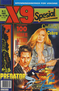 Cover Thumbnail for X9 Spesial (Semic, 1990 series) #5/1992