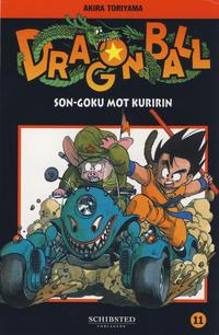 Cover Thumbnail for Dragon Ball (Bladkompaniet / Schibsted, 2004 series) #11 - Son-Goku mot Kuririn