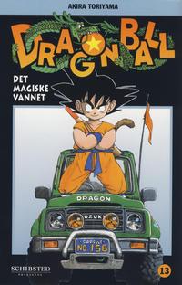 Cover Thumbnail for Dragon Ball (Bladkompaniet / Schibsted, 2004 series) #13 - Det magiske vannet