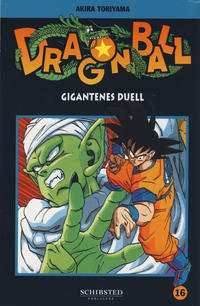 Cover for Dragon Ball (Bladkompaniet / Schibsted, 2004 series) #16 - Gigantenes duell