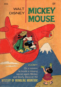 Cover Thumbnail for Walt Disney's Mickey Mouse (W. G. Publications; Wogan Publications, 1956 series) #155