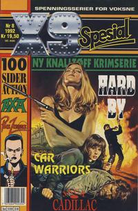 Cover Thumbnail for X9 Spesial (Semic, 1990 series) #8/1992