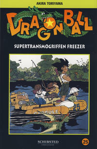 Cover Thumbnail for Dragon Ball (Bladkompaniet / Schibsted, 2004 series) #25 - Supertransmogriffen Freezer