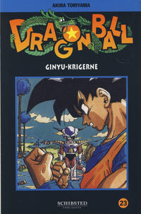 Cover Thumbnail for Dragon Ball (Bladkompaniet / Schibsted, 2004 series) #23 - Ginyu-krigerne