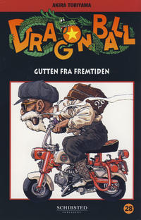Cover for Dragon Ball (Bladkompaniet / Schibsted, 2004 series) #28 - Gutten fra fremtiden
