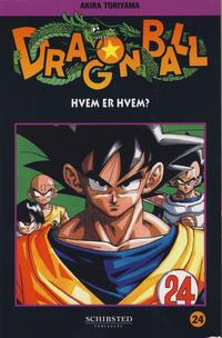 Cover Thumbnail for Dragon Ball (Bladkompaniet / Schibsted, 2004 series) #24 - Hvem er hvem?