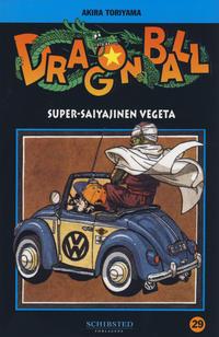 Cover for Dragon Ball (Bladkompaniet / Schibsted, 2004 series) #29 - Super-saiyajinen Vegeta