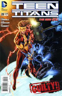 Cover Thumbnail for Teen Titans (DC, 2011 series) #28 [Direct Sales]