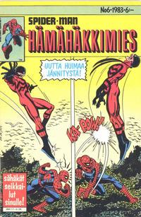 Cover Thumbnail for Hämähäkkimies (Semic, 1980 series) #6/1983