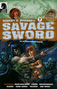 Cover Thumbnail for Robert E. Howard's Savage Sword (Dark Horse, 2010 series) #7