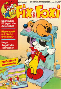 Cover Thumbnail for Fix und Foxi (Pabel Verlag, 1953 series) #v35#28/1987