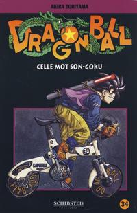 Cover for Dragon Ball (Bladkompaniet / Schibsted, 2004 series) #34 - Celle mot Son-Goku
