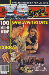 Cover Thumbnail for X9 Spesial (Semic, 1990 series) #9/1992