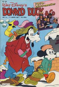 Cover Thumbnail for Donald Duck & Co (Hjemmet / Egmont, 1948 series) #12/1987