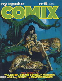 Cover Thumbnail for Comix (Semic, 1983 series) #5