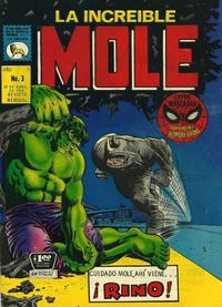 Cover Thumbnail for La Increible Mole (Editora de Periódicos La Prensa S.C.L., 1969 series) #3
