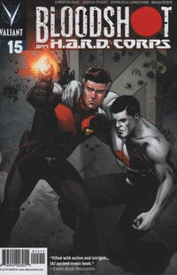 Cover Thumbnail for Bloodshot and H.A.R.D.Corps (Valiant Entertainment, 2013 series) #15 [Cover A - Emanuela Lupacchino]