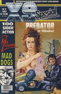 Cover Thumbnail for X9 Spesial (Semic, 1990 series) #6/1993