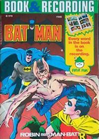 Cover Thumbnail for Batman: Robin Meets Man-Bat! [Book and Record Set] (Peter Pan, 1976 series) #PR30 [Peter Pan Book & Recording ]