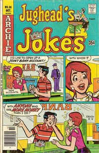 Cover Thumbnail for Jughead's Jokes (Archie, 1967 series) #56