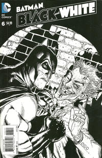 Cover Thumbnail for Batman Black and White (DC, 2013 series) #6