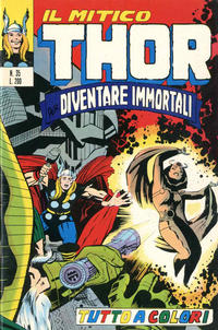 Cover Thumbnail for Il Mitico Thor (Editoriale Corno, 1971 series) #35