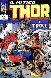 Cover Thumbnail for Il Mitico Thor (Editoriale Corno, 1971 series) #36