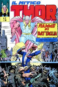 Cover Thumbnail for Il Mitico Thor (Editoriale Corno, 1971 series) #37
