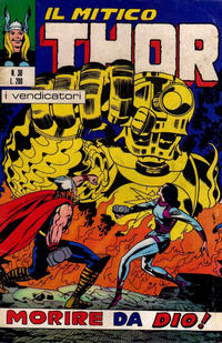 Cover Thumbnail for Il Mitico Thor (Editoriale Corno, 1971 series) #38