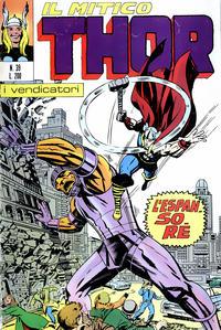 Cover Thumbnail for Il Mitico Thor (Editoriale Corno, 1971 series) #39
