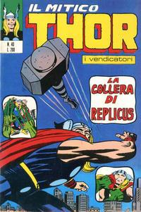 Cover Thumbnail for Il Mitico Thor (Editoriale Corno, 1971 series) #40