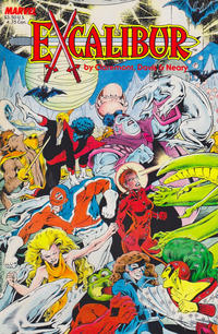 Cover Thumbnail for Excalibur Special Edition (Marvel, 1987 series) #[nn] [2nd Printing]