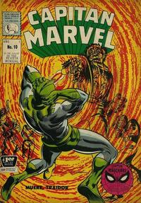Cover Thumbnail for Capitán Marvel (Editora de Periódicos La Prensa S.C.L., 1968 series) #10