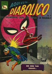 Cover Thumbnail for Diabólico (Editora de Periódicos La Prensa S.C.L., 1966 series) #17