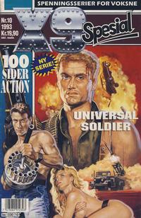 Cover Thumbnail for X9 Spesial (Semic, 1990 series) #10/1993