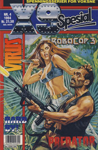Cover Thumbnail for X9 Spesial (Semic, 1990 series) #4/1994