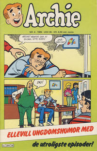 Cover Thumbnail for Archie (Semic, 1982 series) #6/1983