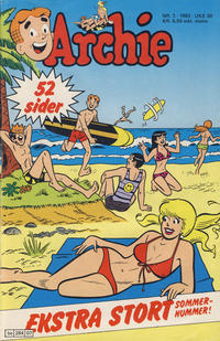 Cover Thumbnail for Archie (Semic, 1982 series) #7/1983