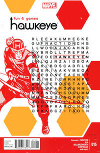 Cover Thumbnail for Hawkeye (Marvel, 2012 series) #15