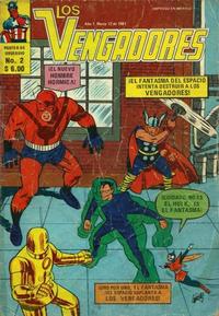 Cover Thumbnail for Los Vengadores (Novedades, 1981 series) #2
