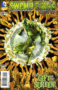 Cover Thumbnail for Swamp Thing (DC, 2011 series) #29