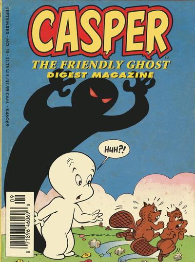 Cover for Casper Digest Magazine (Harvey, 1991 series) #13