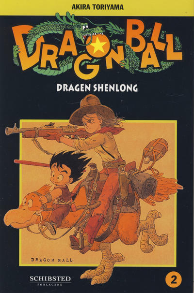 Cover for Dragon Ball (Bladkompaniet / Schibsted, 2004 series) #2 - Dragen Shenlong