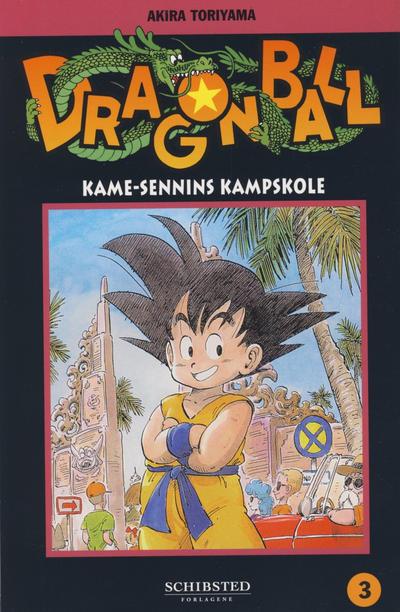 Cover for Dragon Ball (Bladkompaniet / Schibsted, 2004 series) #3 - Kame-Sennins kampskole