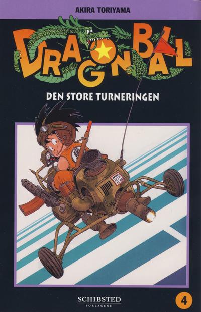 Cover for Dragon Ball (Bladkompaniet / Schibsted, 2004 series) #4 - Den store turneringen