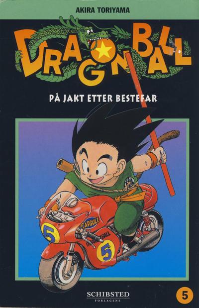 Cover for Dragon Ball (Bladkompaniet / Schibsted, 2004 series) #5 - På jakt etter bestefar