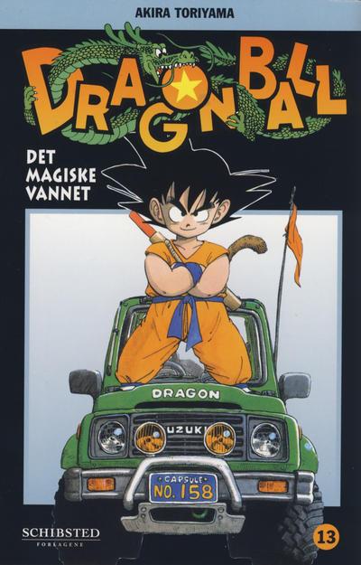 Cover for Dragon Ball (Bladkompaniet / Schibsted, 2004 series) #13 - Det magiske vannet