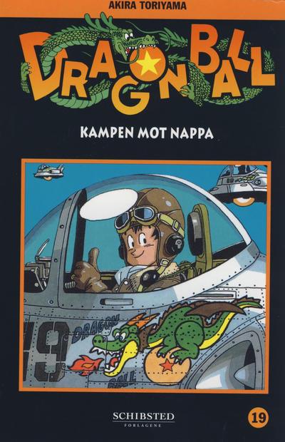 Cover for Dragon Ball (Bladkompaniet / Schibsted, 2004 series) #19 - Kampen mot Nappa